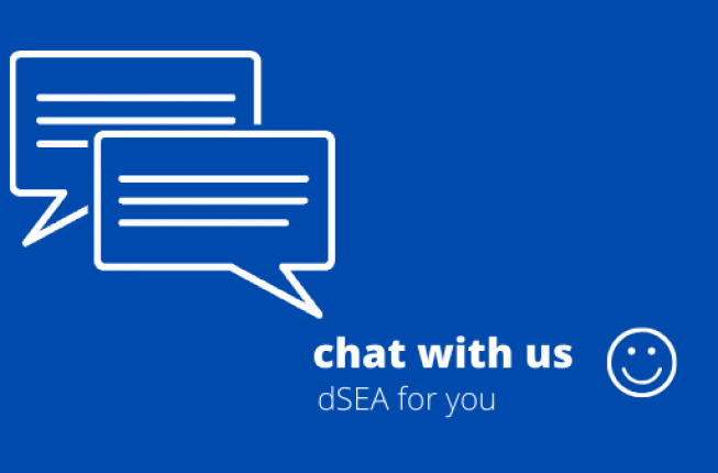 Collegamento a Chat with us!