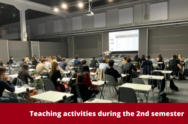 Collegamento a Teaching activities during the 2nd semester A.Y. 2020/2021
