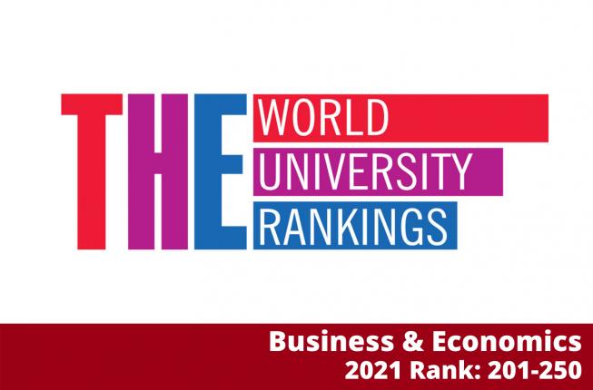 Collegamento a Classifica internazionale  del Times Higher Education