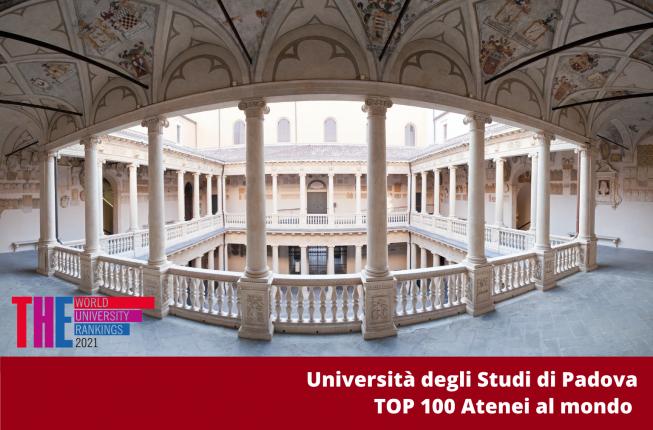 Collegamento a L'Università di Padova tra i primi 100 atenei al mondo
